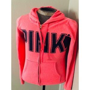 PINK Victoria's Secret Neon Jacket✨XSMALL